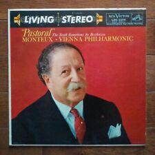 BEETHOVEN MONTEUX Pastoral RCA LP LSC-2316 audiophile orthophonic NM vinyl