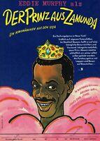 DDR Progress Filmplakat A3 Die Glücksritter 1990 Eddy Murphy & Dan Aykroyd