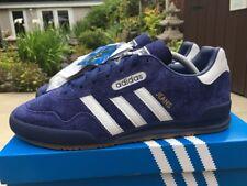 huge selection of 65a2e 91e26 Retro Adidas Jeans Super Blue White Suede   Gum Size 8 80s Football Casuals