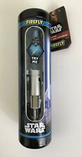 Firefly Star Wars Blue Lightsaber Soft Toothbrush REY W/ Gift Tin 1 Minute Timer