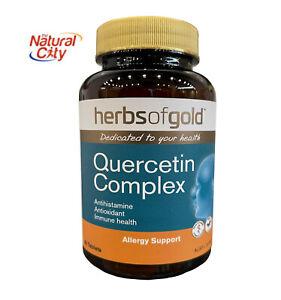 Herbs of Gold Quercetin Complex - 60 tablets