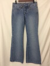 Womens Juniors sz 3 Union Bay Wide Snap Waistband Midrise flare Boot Jeans 29x30