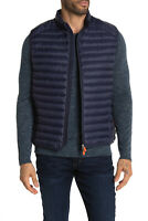 Save The Duck  Mens Puffer Gigax  Vest Navy Blue Size M