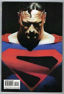 "1996 Overstreet's FAN Comics Magazine #14 "" I am Superman"" Alex Ross art cover."