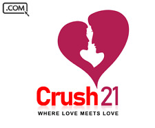Crush21 .com   - Brandable Domain Name sale - DATING CRUSH LOVE DOMAIN NAME