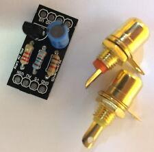 Atari 2600 & 7800 NEW AV Composite Mod Kit & Audio Attenuation Mod [UK SELLER]