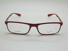 c105684113d NEW Authentic Ray Ban RB 7035 5435 LITEFORCE Shiny Red 54mm RX Eyeglasses