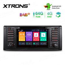 "7"" Android 9.0 Car Stereo Radio GPS Navi 8Core 4G+64GB DAB 2K For BMW E39 M5 E38"