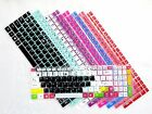 Color Keyboard Skin Cover Protector For 15.6