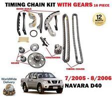 Pour Nissan Navara Pick-Up D40 2.5 DCI 7/2005-8/2006 Neuf Distribution Kit