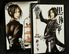 Used Good Black Butler Kuroshitsuji 黒執事 Manga Volume 1 & 2 in Japanese US Seller