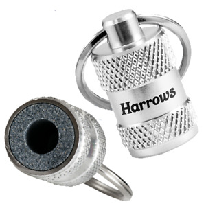 Harrows Darts Sharpener Keyring - For Sharpening Your Darts Points