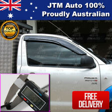 Premium Weather Shield Window Visor Weathershield tosuit Toyota Hilux Single Cab