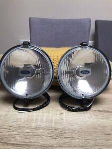 Ford Oben clear Spot lights  XR2 XR3 XR3i RS TURBO RS 1600i Rare.