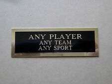 """Any Player Nameplate For A Baseball Ball Cube Square Or Card Plaque 1"""" X 3"""""""