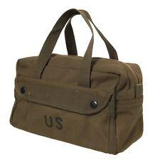 Borsa porta attrezzi piccola militare americana US vintage WWII 101 INC toolbag