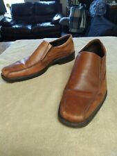 ECCO New Jersey Slip-On Loafer - Brown Casual Dress Shoes Men's Size 11