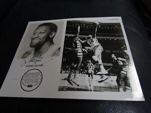 Bob Lanier Detroit Pistons Autographed Photo JSA Auction Certified