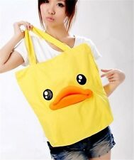 New Handbag Shoulder Satchel Bag Fashion Student Backpack The Girl Rhubarb Duck