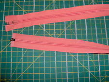 "24"" SEPARATING ZIPPER - NEW - DARK PEACH - QA"