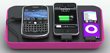BlueLounge Refresh universal SmartPhone iPod MP3 MP4 Charging Dock Station, Pink