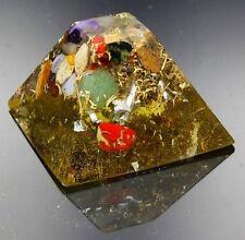 Orgonit Orpanit® Orgon Energie Maya Pyramide XS Edelsteine 5G Haarp