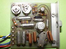Nagra 3 VU-Meter amplifier board New