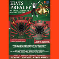 "ELVIS PRESLEY US EP COLLECTION VOLUME 8 10"" RED VINYL disc LTD  christmas"