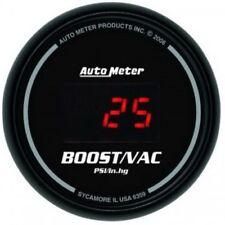 "Auto Meter 6359 2-1/16"" Digital Sport-Comp Boost/Vacuum Guage, 30 in HG/30 PSI"