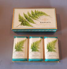 vintage 3 Stück  Seife 4711 Waldgrün Fougère soap