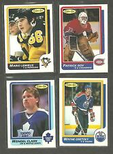 1986 - 1987 OPC COMPLETE Hockey card set PACK FRESH NM - MINT + PATRICK  ROY RC