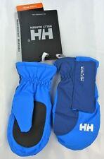 Helly Hansen Moufles Enfants Taille 5 8/11 ans - Modèle K Poly Bleu Racer