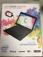 """NEXTBOOK ARES 11A 11.6"""" 2-IN-1 QUAD CORE ANDROID TABLET* SEALED IN BOX*"""