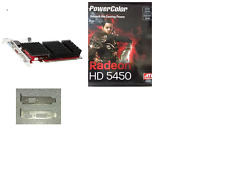 Low Profile Powercolor Radeon HD 5450 2GB DDR3 PCIE Dual-Link DVI-D/HDMI/VGA