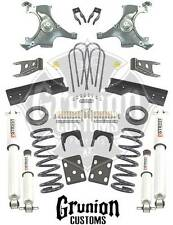 Chevy C1500 Silverado Std Cab 1992-98 5/7 Lowering Kit w/Shocks Belltech 689SP