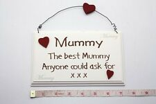 The Best Mummy Wall Plaque Sign Christmas Gift Ideas for Her & Mother, Mom & Mam