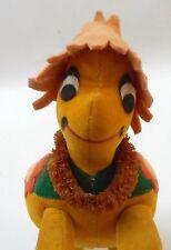 "Dakin Dream Pet Turtle Gold Orange Green Vintage Japan 1960s Rare 6.5"""
