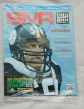 Jack Lambert Steelers June 2014 SMR Sports Market Report PSA Price Guide Sealed