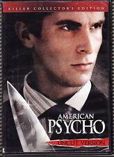 American Psycho (Dvd, 2005, Uncut Version) Christian Bale Willem Dafoe