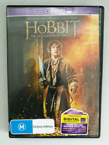 The Hobbit: The Desolation of Smaug DVD Fantasy Rated M VGC