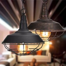 Lampadario vintage da soffitto Retro Industriale Bar Lampada a sospensione Luci