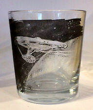 STAR TREK The Starship Enterprise FRUIT JUICE/WHISKY GLASS mixer glass