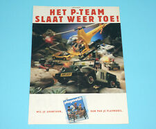 PLAYMOBIL MAGAZINE ADVERT 1980s DONALD DUCK HOLLAND