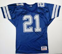 Rare Vintage Dallas Cowboys Deion Sanders #21 Jersey Wilson Team NFL Made in USA