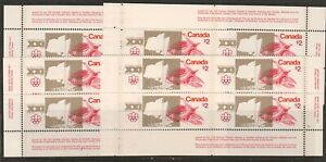 CANADA PLATES #688 $2 OLYMPIC SITES MS   MINT  NH