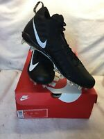 NIKE Alpha Menace Pro Low TD PF Cleats Blk//Wht 918187-010 Size 11.5 1712