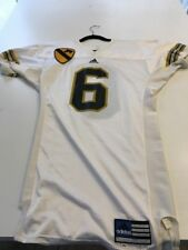 Game Worn Used Army Black Knights Football Jersey #6 Size 44