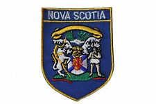 NOVA SCOTIA  Blue Shield CANADA Provincial Flag IRON-ON PATCH CREST BADGE
