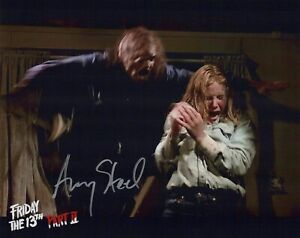 Friday the 13th Part II 8x10 photo signed by Amy Steel