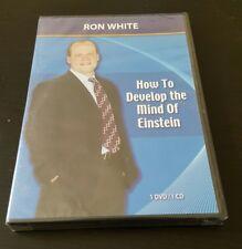 Ron White: How To Develop The Mind Of Einstein (DVD & CD) sales training NEW